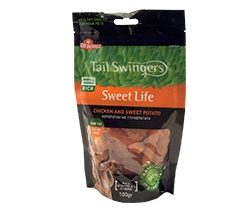 dog snacks with sweet potato