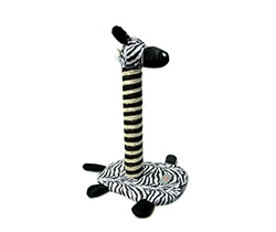 zebra cat tree
