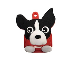 key cover boston terrier