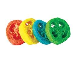 loofah toys