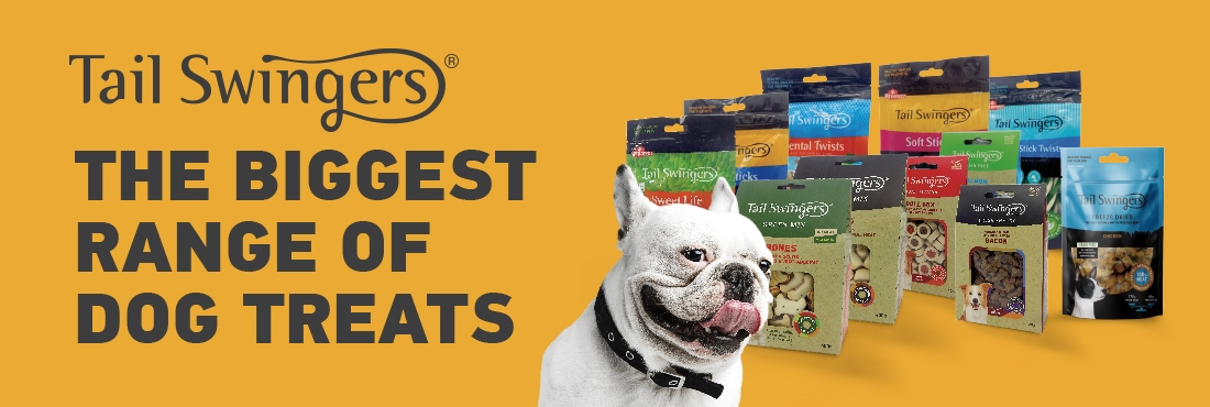Tail Swingers products, THE BIGGEST RANGE OF DOG TREATS