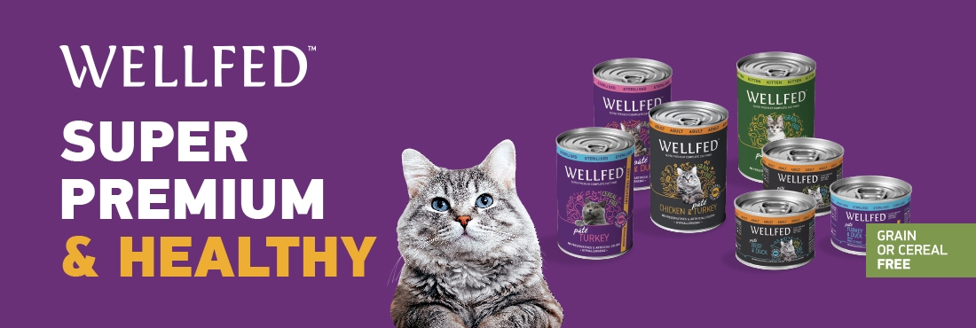 WELLFED products, SUPER PREMIUM & HEALTHY