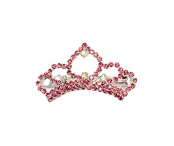 princess tiara barrettes